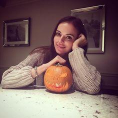 Ja i moja mini dyńka  happy Halloween #happyhalloween