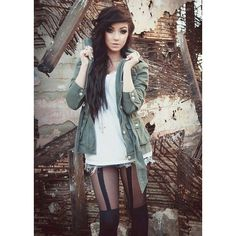 I love Emo Girls ❤ liked on Polyvore featuring hair, girls, people, anon and faceclaims