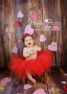 RED VALENTINE TUTU with vintage style by alliballiboutique on Etsy