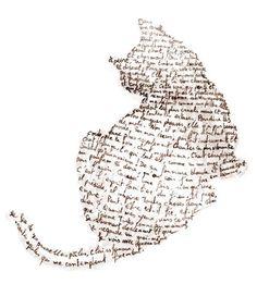 Erster Donnerstag in Jill Gedicht bei den Crôqueurs de Môtes von Dômi - Lénaïg - картинки для декупажа - Chat I Love Cats, Crazy Cats, Cat Drawing, Life Drawing, Word Art, Cat Art, Collage Art, Art Projects, Illustration Art
