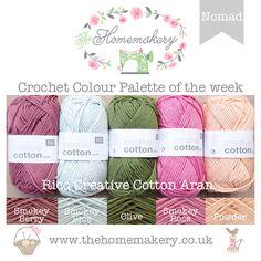 Crochet Colour Palette: Nomad
