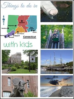 Travel and Things to Do in Connecticut (CT) with Kids. Traveling with kids.