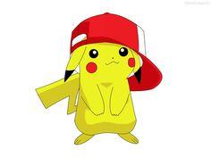 dibujos pikachu con gorra - Buscar con Google