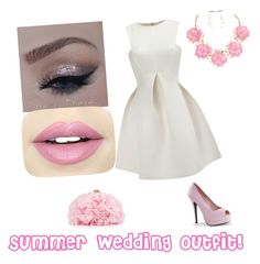 """""""Summer wedding outfit xx"""" by lozza-b15 on Polyvore featuring Fiebiger, WithChic, Bordello and Betsey Johnson"""