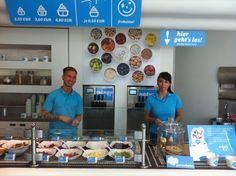 Yogurt Store Design Concept   frohsinn joghurt - Berlin, Potsdamer Platz 8
