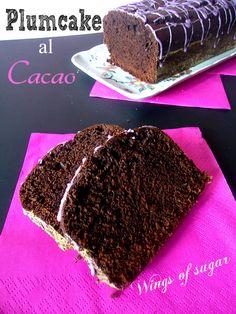Plumcake al cacao ricetta
