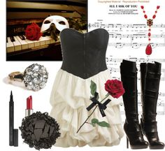 """The Phantom of the Opera"" by serenity ❤ liked on Polyvore"