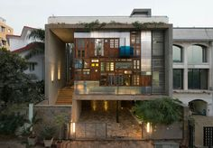 Collage House by S+PS Architects- India