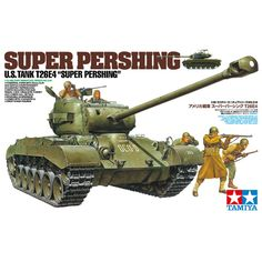 62.90$  Watch now - http://aliusu.worldwells.pw/go.php?t=32688029268 - Tamiya 35319 1/35 Super Pershing US Tank T26E4 Military Assembly AFV Model Building Kits TTH