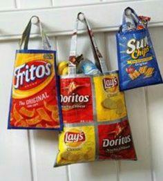 Sac tout usage chips