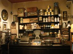 Old Western General Store | recreation of a general store, with authentic artificats is part of ...