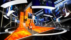 The Eurovision Song Contest stage design