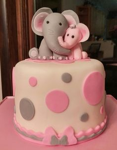 Elephant baby shower cake                                                                                                                                                                                 More