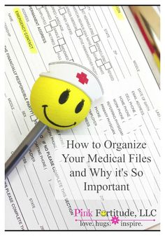 How to Organize Your Medical Files and Why it's Important is part of Medical File Organization - Tips on how to organize your medical files for a medical crisis, major illness or care of an elderly relative by coconutheadsurvivalguide com Biceps, Personal Hygiene, Personal Finance, Elderly Care, Teacher Hacks, Teacher Toolkit, Teacher Education, Teacher Stuff, Special Education