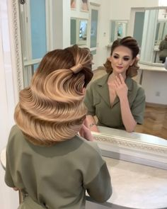 Glam Updo Styles For Wedding! Do you wanna see more fab hairstyle ideas and tips for your wedding? Then, just visit our web site babe! Bride To Be! Curly Hair Styles, Updo Styles, Natural Hair Styles, Up Hairstyles, Braided Hairstyles, Wedding Hairstyles, Hairstyle Ideas, Creative Hairstyles, Beautiful Hairstyles