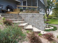 Retaining walls - Edgeron - landscaping and design by Nursery