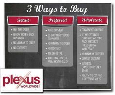I love that Plexus gives you some options! I personally signed up as an Ambassador to get the wholesale pricing, and I make commission on all of my own sales as well. Plus, the $34.95 gets me wholesale pricing for an entire year!!! I cannot express it enough, BEST. DECISION. EVER. The extra income has been awesome for our family!! Ambassador 241946 jessicaholley.myplexusproducts.com jmholley.plexus@gmail.com