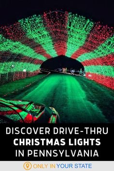 Enjoy a magical holiday festival filled with Christmas Lights at this Pennsylvania golf course. Drive through thousands of lights while listening to festive carols. Winter Light, Winter Fun, Winter Travel, Holiday Festival, Holiday Fun, Festive, Christmas Light Displays, Christmas Lights, Christmas Carol