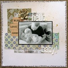 hello, baby! - Scrapbook.com