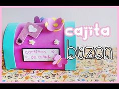 DIY - caja en forma de buzón para amor y amistad :)