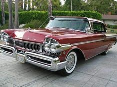 "doyoulikevintage: ""1957 Mercury Turnpike Cruiser 2-door hardtop "" Is an Edsel any weirder looking than this ? Surely designed by a committee that didn't meet often! Not that I don't like it all the..."