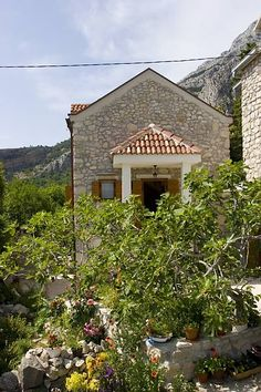 Vacation Rentals Gornji Tučepi - Podpeć (Makarska) - Price from: Vacation Rentals, Croatia, Cabin, House Styles, Beach, Home Decor, Decoration Home, The Beach, Room Decor