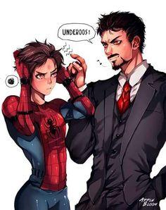 Tony x Peter