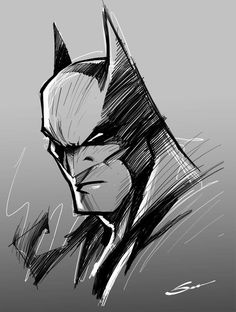 gerardo sandoval - Batman sketch