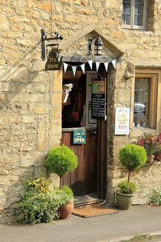 The Tea Room - Castle Combe, Wiltshire, England