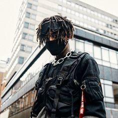 5 SoundCloud Rappers That Metalheads Need To Know About — Kerrang! Cyberpunk Mode, Cyberpunk Fashion, Dreads, Godzilla, Free Type Beats, Ken Kaneki Tokyo Ghoul, Urban Fashion, Mens Fashion, Bad Boy