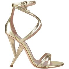 DSQUARED Ayers Heel Sandals found on Polyvore