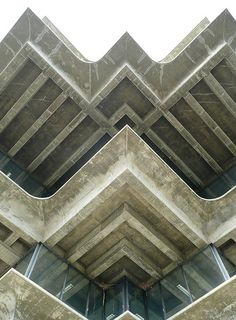 UCSD Geisel Library edges | San Diego, CA  | William L. Pereira Associates
