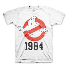 T-Shirt Ghostbusters 1984