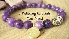 With these 5 amazing Relaxing Crystals, it will be much easier to achieve a relaxing state, that you needed for a long time. They bring peace and calmness.