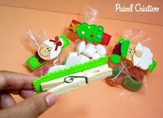 como fazer lembrancinha natal pregadores natalinos papai noel mamae noel arvore de natal boneco de neve (3)