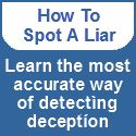 Ways to detect lies via facial expressions, gestures & the direction eyes go