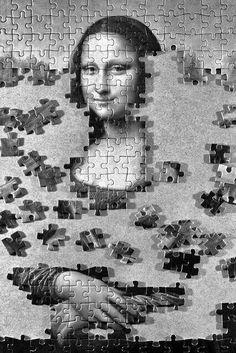 Mona Lisa: Work in Progress by Paolo Brusadin Real Mona Lisa, Mona Lisa Smile, Michelangelo, Van Gogh, Lisa Gherardini, Monet, Mona Lisa Parody, Classic Image, Italian Artist