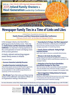 2015 Inland Family Owners & Next Generation Leadership Conference