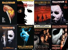 For me, the only real ones are Halloween (1978), Halloween II (1981), & Halloween H20. I only watch the others because well i need a Michael Myers fix.