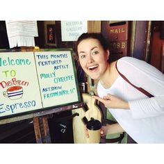 HPU student Molly O'Keeffe is DeBeen's featured artist for the month of April! Congrats, Molly!