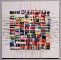 Weaving by Ellen Kochansky