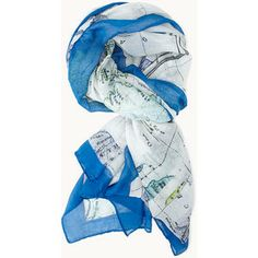FOREVER 21 World Explorer Map Scarf