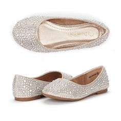 Dream Pairs MUY Mary Jane Casual Slip On Ballerina Flat Toddler Little Girl New >>> You can find out more details at the link of the image.
