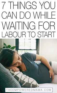 No signs of labour, done all your birth preparation and your birth plan is all in place? Rather than just twiddling your thumbs, here's some things you can do while waiting for labour to start. Pregnancy Health, Pregnancy Workout, Pregnancy Tips, Signs Of Labour, Earliest Pregnancy Symptoms, Labor Signs And Symptoms, Labor Positions, Early Labor, Stages Of Labor