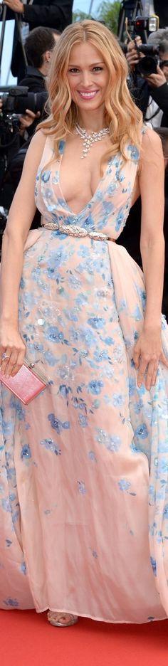 Petra Nemcova - Zuhair Murad Couture - Chopard jewels  Cannes 2015