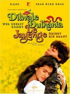 The longest running bollywood movie in maratha mandir........ This movie is indeed a saga.... Who doesnt remember the SRK pose in the movie :)