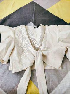 Rasheeda, Fashion Online, Women's Fashion, Chic Type, Satin Color, Sunflower Print, Front Tie Top, Printed Pants
