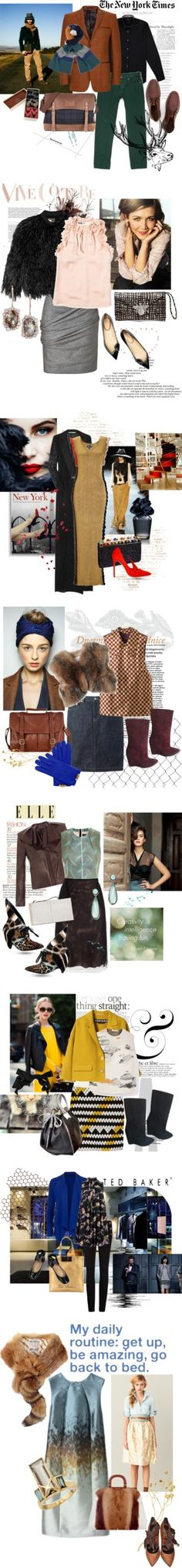 """""""New Fall Sets"""" by hydrangea4 ❤ liked on Polyvore"""