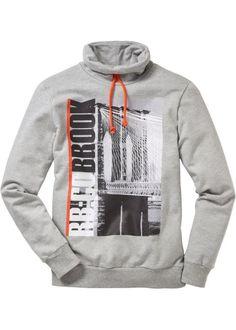 Sweatshirt, RAINBOW, lichtgrijs gemêleerd