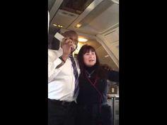 Mormon Tabernacle Choir in flight - Alex Boye leads the Choir on a Delta Flight for a rockin' good time! So fun!